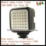 video light LED-5006 for Sony DV-