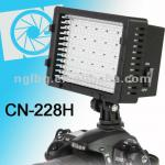 NanGuang CN-228H On camera LED video light with D-tap cord-CN-228H
