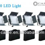 Bi-Color Free Bags 4pcs 600 LED Panel Video Light Film Camera Studio LEDS Light-