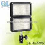 GL-LED209AS bi-color led video light-