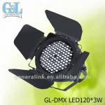 photography lighting equipment GL-DMX LED120*3W-GL-DMX LED120*3W