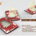 LED Christmas tree card light novelty creative christmas gift-SD-37
