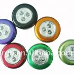 3led battery operated led push light-YG-LPD8201
