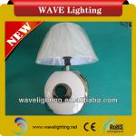 WT-07 white fabric shade table lamps & reading lamps-WT-07