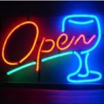 LED neon advertising light for coffee and drink bar-LY-WHITE-12V-MINI-SIGN