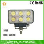 18w LED work lights car light 1000lm 6000k-