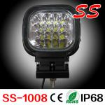 heavy duty truck LED working lamp for machines 48w truck led working light-ss-1008