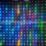 XC-H-A-001 led vedio curtain hot selling led vedio screen for wedding,disco,dj and stage-